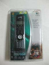 LOGITECH Harmony 550 Advanced Universal Remote FACTORY SEALED!!!