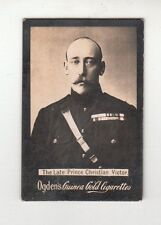 Z42 OGDEN'S GUINEA GOLD CIGARETTES CARD - THE LATE PRINCE CHRISTIAN VICTOR