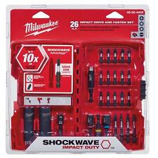 Shockwave 26-Piece Impact Screwdriver Bit Set by Milwaukee 48-32-4408