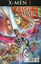 Civil War II X-Men #1 (NM) `16 Bunn/ Broccardo