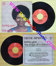 LP 45 7'' MINNIE RIPERTON Loving you The edge of a dream 1975 italy no cd mc dvd