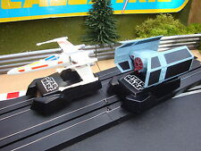 PAIR OF MINT MICRO SCALEXTRIC STAR WARS FIGHTERS - LOADS MORE CARS FOR SALE