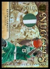2010-11 Panini Gold Standard Gold Nuggets Mat Prime Kevin Garnett #d/25 PATCH