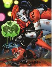 HARLEY QUINN #10 SUICIDE SQUAD ART PRINT Signed AMANDA CONNER & JIMMY PALMIOTTI