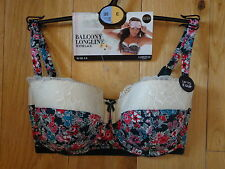 BNWT M&S LIMITED LINGERIE UNDERWIRED PADDED  BALCONY BRA SIZE 30E R/P £17.50
