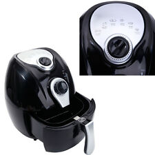 1500W Electric Air Fryer Multifunction Programmable Timer & Temperature Control