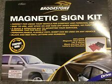 DIY MAGNETIC Vehicle SIGN KIT Business Branding Taxi Car Van Advertisement Vinyl