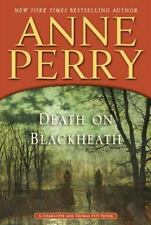 Death on Blackheath by Anne Perry (Hardcover Autographed 1st Edition 2014)
