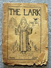WILLIAM DOXEY The Lark 1896 SAN FRANCISCO California RARE Priest in Gray Apparel