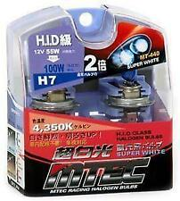 MTEC H7 12v 55w JDM Yellow Xenon Effect Upgrade Bulbs Japanese performance New