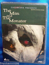 NEW RARE OOP CASANEGRA PRESENTS THE MAN AND THE MONSTER HORROR MOVIE DVD 1958