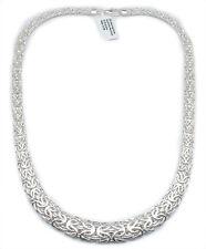 Byzantine Bracelet Necklace Set Sterling Silver QVC