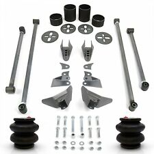 Rear Triangulated 4-Link Kit with Brackets and 2600 Bags for Air Ride Suspension