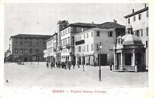 2611) RIMINI PIAZZA GIULIO CESARE. ANIMATA, VETRERIA. VIAGGIATA.
