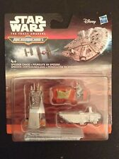 Star Wars Micro Machines - Speeder Chase (3 vehicles including Rey) - BNIB
