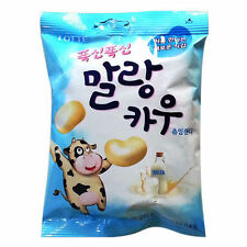 LOTTE Malang Cow Soft Fresh Milk Chew-able Candy Marshmallow 63g Korean Snack