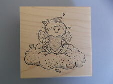 CREATIVE IMAGES RUBBER STAMPS CISTAMPS ANGEL ON A CLOUD NEW STAMP