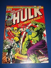 Incredible Hulk #181 1st Wolverine Enormous Key Wow w/Stamp Fine/Fine+ Beauty