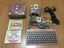 Sega DreamCast HELLO KITTY Pink Limited Console NTSC-J