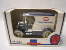Ertl 1912 Ford Open Cab Delivery Truck IGA Hometown Proud 1/25 Coin Bank VGC