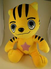 "Awesome Rare  11""Anime Star Q Yellow Tiger Velvet Tora Dora Pokemon Kigurumi"
