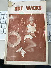 HOT WACKS QUARTERLY #VII 1979 RECORD COLLECTOR MAGAZINE Blondie COVER