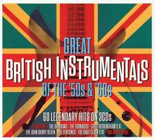 GREAT BRITISH INSTRUMENTALS OF THE '50S & '60S VARIOUS ARTISTS (NEW SEALED 3CD)