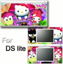 Hello kitty CAT VINYL SKIN STICKER f NINTENDO DS LITE 5