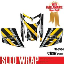 SLED WRAP DECAL STICKER GRAPHICS KIT FOR SKI-DOO REV MXZ SNOWMOBILE 03-07 SL6564