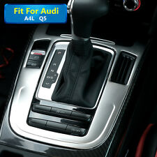 Interior Car Gear Box Panel Cover Trim For Audi A4 B8 2009-2015  Q5 2010-2015