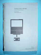 Service Manual for Bang & Olufsen BeoVision Avant VTR MKII (4451,4453,4456