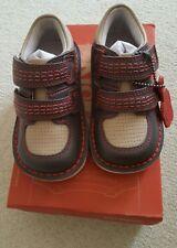 Kickers Scarpe Per Ragazzi 6 UK 23 EU sneakerize Scuro Grigio/Rosso