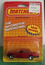 Matchbox 1986 MB 41 Jaguar XJ6 1/64 Automotive Superstars Card New