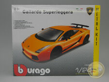 p Lamborghini Gallardo Superleggera (2007) Orange - Burago Kit - 1/24 - BU11539