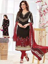 Elegant Crepe Designer Printed Unstitched Dress Material Suit D.No RR9076