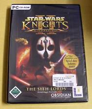 Pc jeu-star wars-Knights of the old republic 2: the sith lords-NEUF emballage d'origine