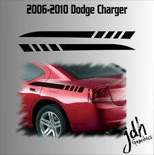 2006 2007 2008 2009 2010 Dodge Charger Rear Quarter Panel Stripe Vinyl Decal
