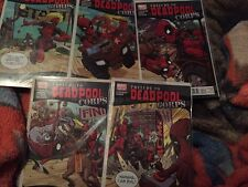 PRELUDE TO DEADPOOL CORPS 1 2 3 4 5 1-5 Complete Set Lot Run Movie Coming Out