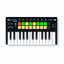Novation Launchkey Mini MK2 Ableton Cubase Logic MIDI 25-Key Keyboard Controller