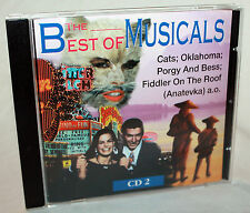 CD THE BEST OF MUSICALS CD 2 - Cats / Fiddler on the roof / Oklahoma u.a.