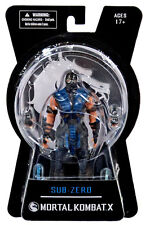 "MORTAL KOMBAT X - Sub Zero 6"" Action Figure (Mezco) #NEW"