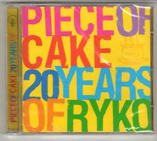 (GQ306) Piece of Cake, 20 Years of Ryko, 20 tracks - 2003 - Sealed Mojo CD