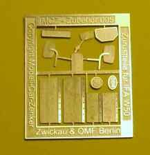MCZ Zubehör 005 : Ätzplatine für IFA W 50 ( Spiegel,Schmutzfänger,DDR...)