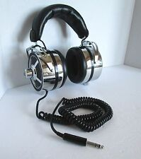 1970s Vintage Sound AUDITION MD-2STV Professional Dynamic Headphone