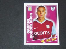 42 AGBONLAHOR VILLANS ASTON VILLA TOPPS PREMIER LEAGUE FOOTBALL 2008-2009 PANINI