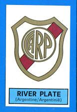 FOOTBALL 1972-73 BELGIO -Panini Figurina-Sticker n 312 -RIVER PLATE SCUDETTO-Rec