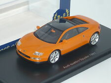 New 1:43 BOS Resin Handbuilt Audi Spider Concept Car Prototype first R8 Spyder