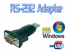 Logilink AU0002E Serial RS-232 9 Pin to USB A Converter Adapter for Win XP 8