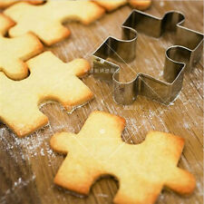 1pc Stainless Puzzle Shape Biscuit Cookies Baking Mould Mold Pastry Kitchen