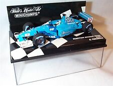 Benetton Renault Sport B201 G.Fisichella New in case